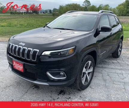 2020 Jeep Cherokee for sale at Jones Chevrolet Buick Cadillac in Richland Center WI
