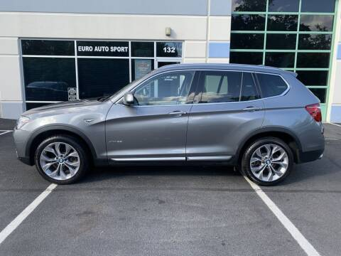 2017 BMW X3 for sale at Euro Auto Sport in Chantilly VA