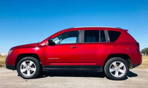 2015 Jeep Compass for sale at Palmer Auto Sales in Rosenberg TX