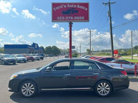 2011 Toyota Avalon for sale at Ford's Auto Sales in Kingsport TN