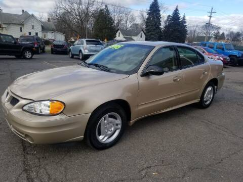 2003 Pontiac Grand Am for sale at DALE'S AUTO INC in Mt Clemens MI