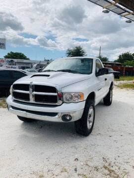 2005 Dodge Ram Pickup 1500 for sale at Solares Auto Sales in Miami FL