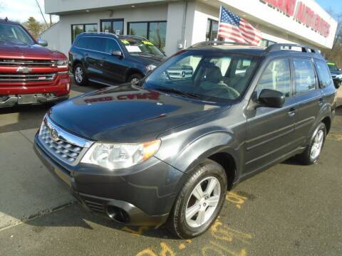 2013 Subaru Forester for sale at Island Auto Buyers in West Babylon NY