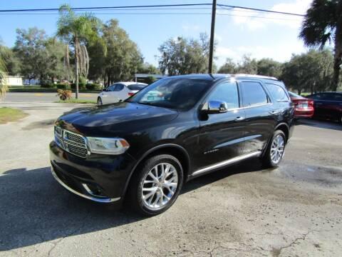 2014 Dodge Durango for sale at S & T Motors in Hernando FL