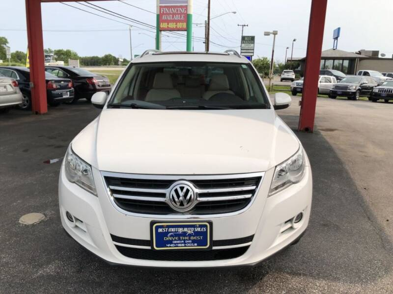2011 Volkswagen Tiguan for sale at Best Motor Auto Sales in Perry OH