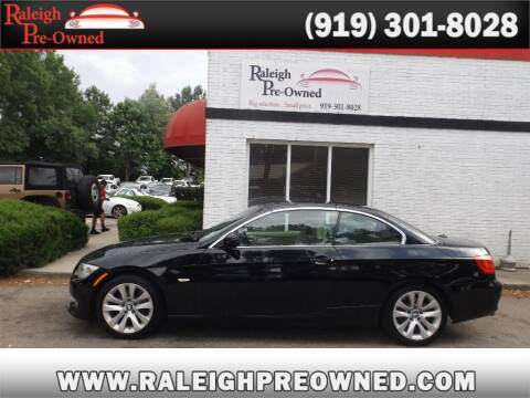2013 BMW 3 Series for sale at Raleigh Pre-Owned in Raleigh NC