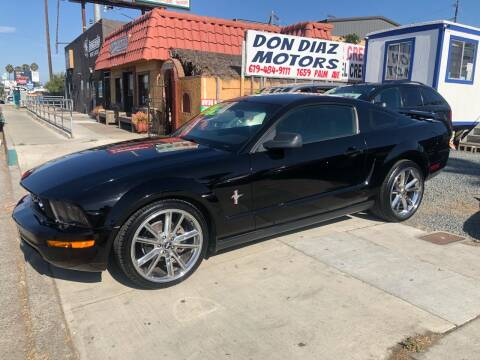 2006 Ford Mustang for sale at DON DIAZ MOTORS in San Diego CA