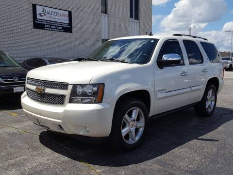 2008 Chevrolet Tahoe for sale at AUTOSAVIN in Elmhurst IL