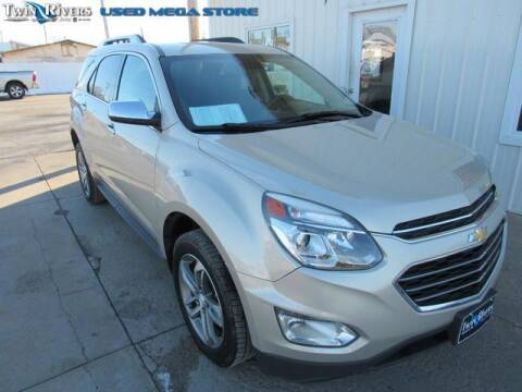 2016 Chevrolet Equinox for sale at TWIN RIVERS CHRYSLER JEEP DODGE RAM in Beatrice NE