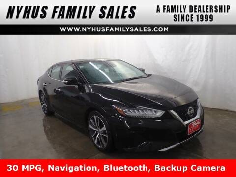 2020 Nissan Maxima for sale at Nyhus Family Sales in Perham MN