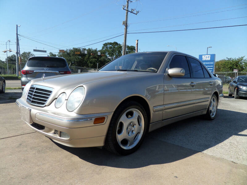 2000 Mercedes-Benz E-Class for sale at West End Motors Inc in Houston TX