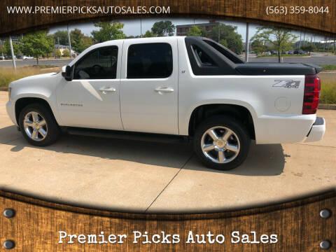 2010 Chevrolet Avalanche for sale at Premier Picks Auto Sales in Bettendorf IA