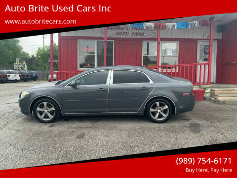 2009 Chevrolet Malibu for sale at Auto Brite Used Cars Inc in Saginaw MI