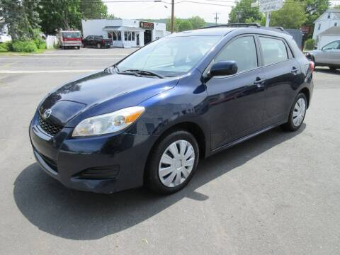 2010 Toyota Matrix for sale at BOB & PENNY'S AUTOS in Plainville CT