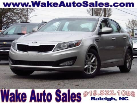 2012 Kia Optima for sale at Wake Auto Sales Inc in Raleigh NC