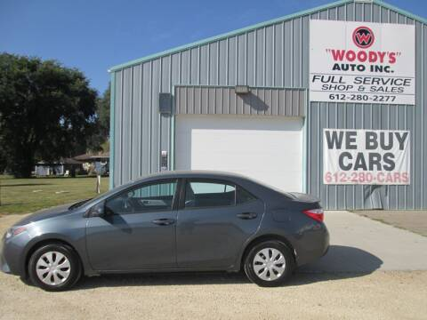 2015 Toyota Corolla for sale at Woody's Auto Sales Inc in Randolph MN