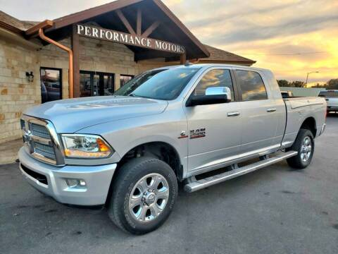 2015 RAM Ram Pickup 2500 for sale at Performance Motors Killeen Second Chance in Killeen TX