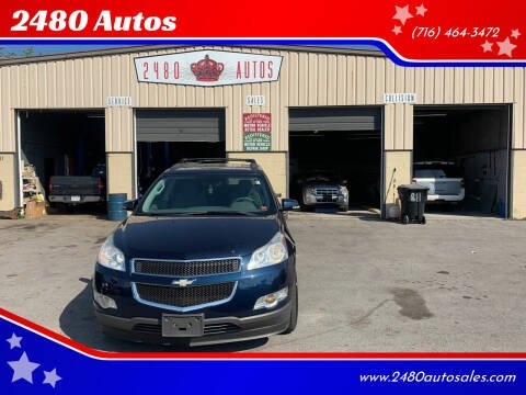 2012 Chevrolet Traverse for sale at 2480 Autos in Kenmore NY