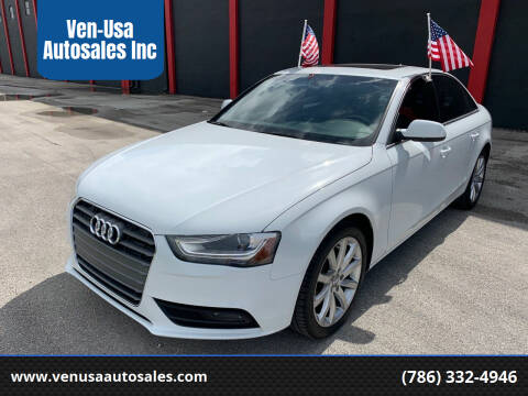 2013 Audi A4 for sale at Ven-Usa Autosales Inc in Miami FL