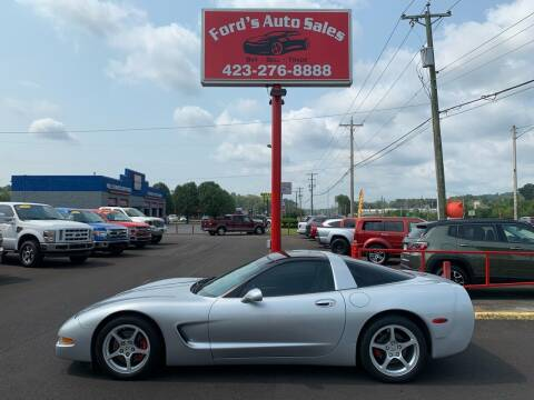 2000 Chevrolet Corvette for sale at Ford's Auto Sales in Kingsport TN