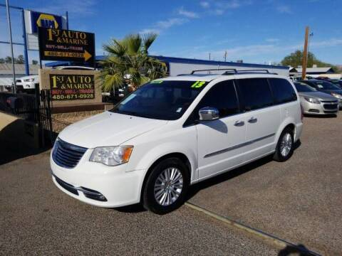 2013 Chrysler Town and Country for sale at 1ST AUTO & MARINE in Apache Junction AZ