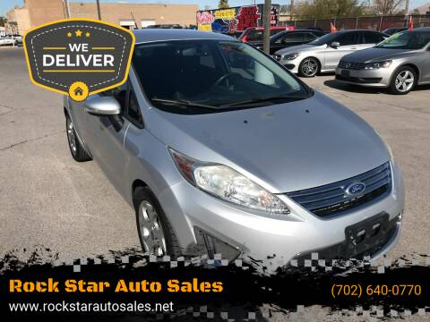 2011 Ford Fiesta for sale at Rock Star Auto Sales in Las Vegas NV