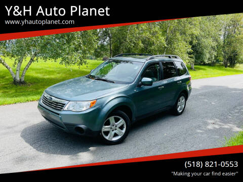 2009 Subaru Forester for sale at Y&H Auto Planet in West Sand Lake NY