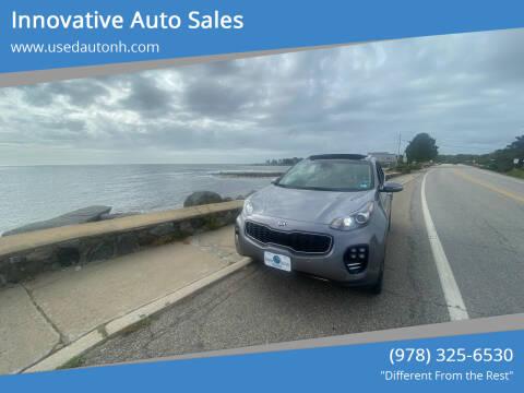 2017 Kia Sportage for sale at Innovative Auto Sales in North Hampton NH