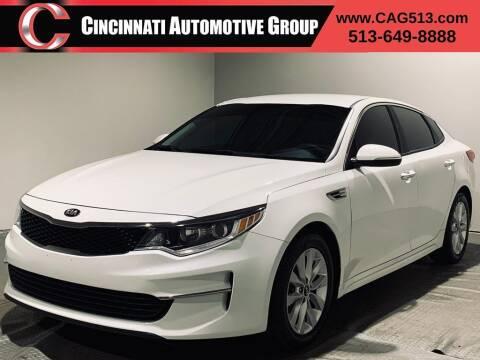 2016 Kia Optima for sale at Cincinnati Automotive Group in Lebanon OH