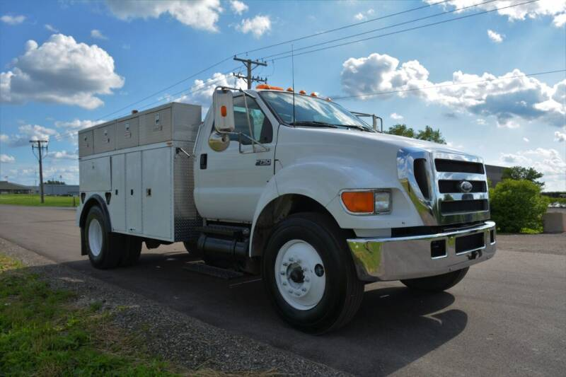 2005 Ford F-750 Super Duty for sale at Signature Truck Center - Service-Utility Truck in Crystal Lake IL