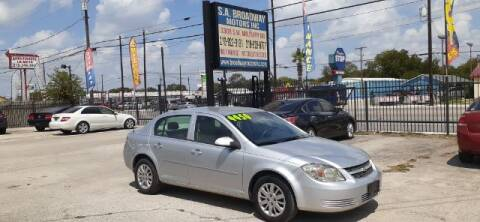 2010 Chevrolet Cobalt for sale at S.A. BROADWAY MOTORS INC in San Antonio TX