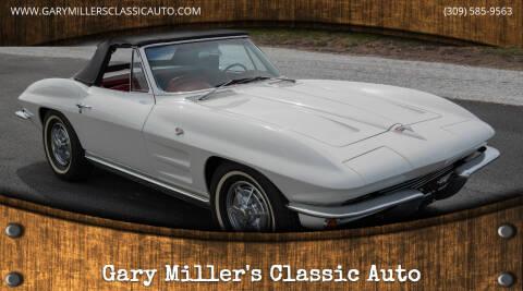 1964 Chevrolet Corvette for sale at Gary Miller's Classic Auto in El Paso IL