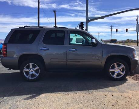 2012 Chevrolet Tahoe for sale at SPEND-LESS AUTO in Kingman AZ
