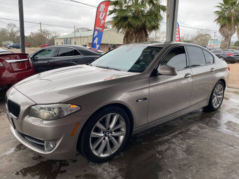 2011 BMW 5 Series for sale at M & M Motors in Angleton TX