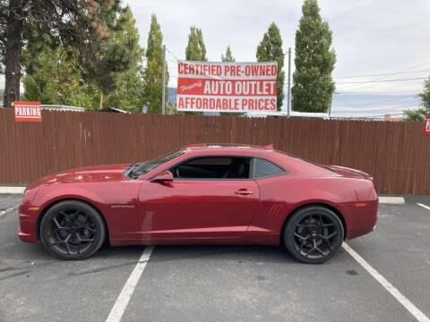 2013 Chevrolet Camaro for sale at Flagstaff Auto Outlet in Flagstaff AZ