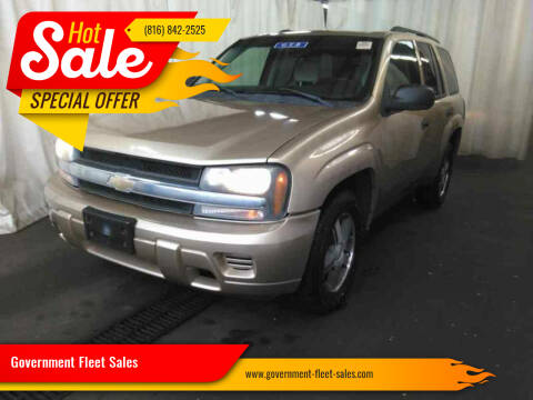 2007 Chevrolet TrailBlazer for sale at Government Fleet Sales in Kansas City MO