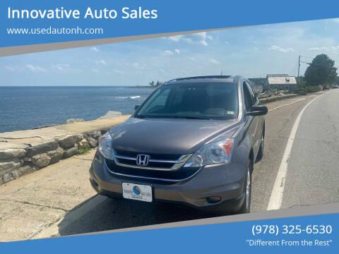 2010 Honda CR-V for sale at Innovative Auto Sales in North Hampton NH