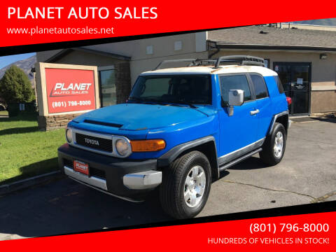 2007 Toyota FJ Cruiser for sale at PLANET AUTO SALES in Lindon UT