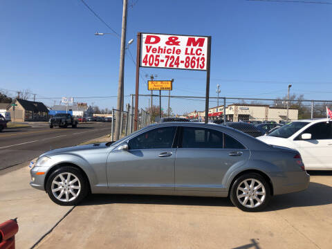 2007 Mercedes-Benz S-Class for sale at D & M Vehicle LLC in Oklahoma City OK