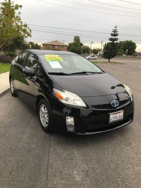 2011 Toyota Prius for sale at California Auto Trading in Bell CA