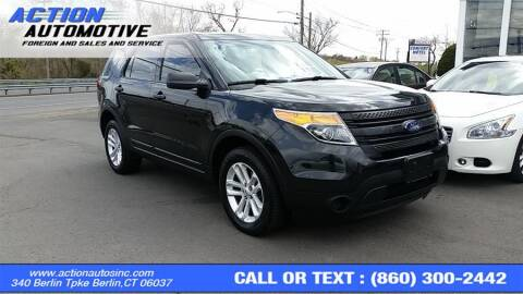 2015 Ford Explorer for sale at Action Automotive Inc in Berlin CT