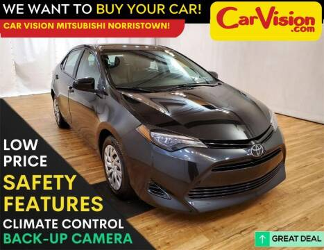 2018 Toyota Corolla for sale at Car Vision Mitsubishi Norristown in Norristown PA