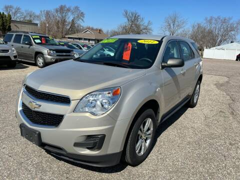 2011 Chevrolet Equinox for sale at River Motors in Portage WI