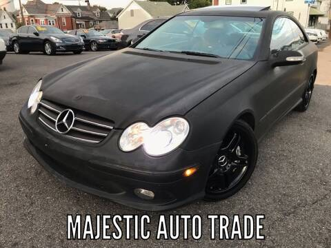 2005 Mercedes-Benz CLK for sale at Majestic Auto Trade in Easton PA
