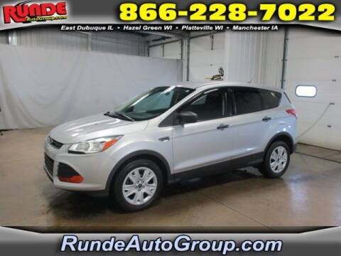 2014 Ford Escape for sale at Runde Chevrolet in East Dubuque IL