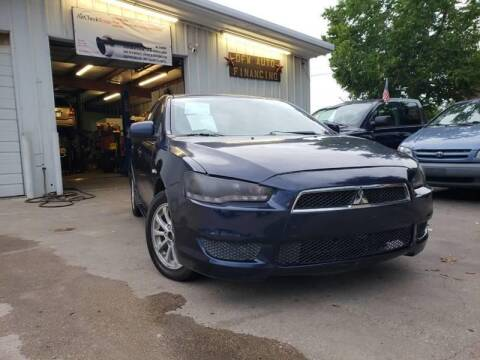 2013 Mitsubishi Lancer for sale at DFW AUTO FINANCING LLC in Dallas TX