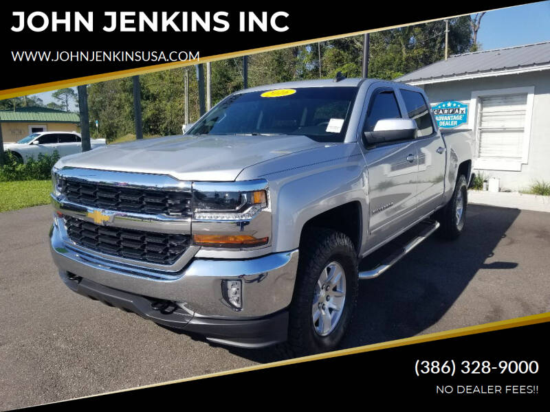 2016 Chevrolet Silverado 1500 for sale at JOHN JENKINS INC in Palatka FL
