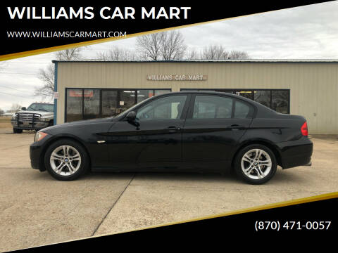 2008 BMW 3 Series for sale at WILLIAMS CAR MART in Gassville AR