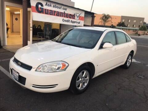 2008 Chevrolet Impala for sale at Concord Auto Sales in El Cajon CA