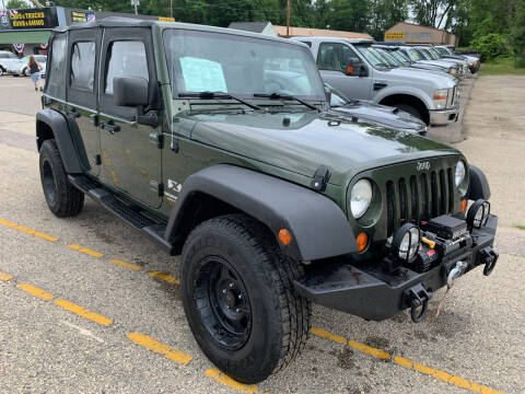 2007 Jeep Wrangler Unlimited for sale at 51 Auto Sales Ltd in Portage WI